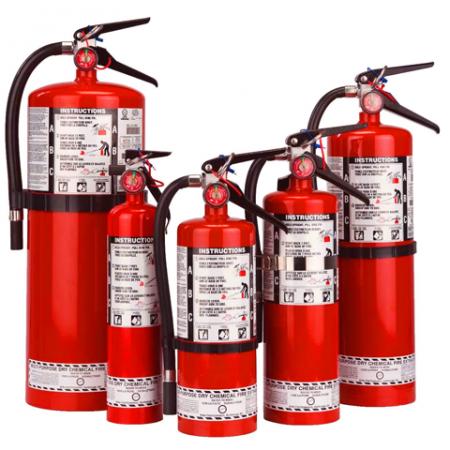 Fire Extinguishers & Eq.